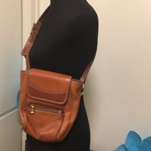 Bally crossbody leather purse